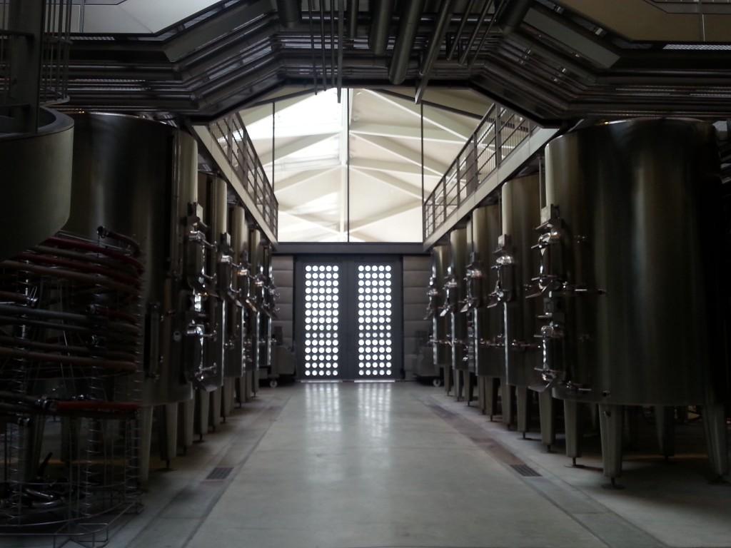 Château Margaux vinification room