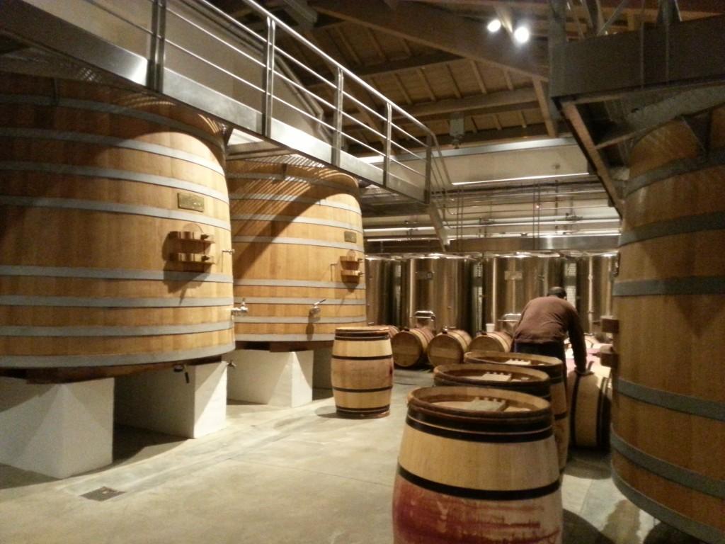 Château Margaux vat room